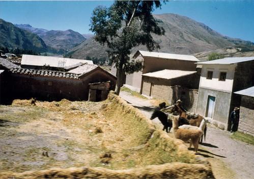 Tinta pueblo natal de Tupac Amaru II