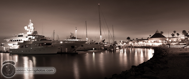 Night at Kona Kai Marina 70810 © Michael Klayman-008