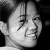 """smiling (fifich@t - OFFforever) Tags: portrait blackandwhite bw woman smile square asia burma trix nb myanmar grayscale youngwoman greyscale nikonf80 birmanie squarepicture classicbw formatcarré unaltraperlanera anotherblackpearl analogpicture ©tousdroitsréservés earthasia """"nikonflickraward"""" """"flickraward platinumpeaceaward awesomeasia lightroomps fifichat1 ©frs fificht ©frs"""
