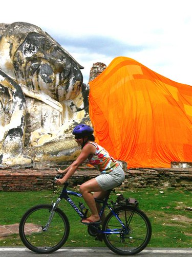 Highlights by Bike - Ayutthaya, Thailand