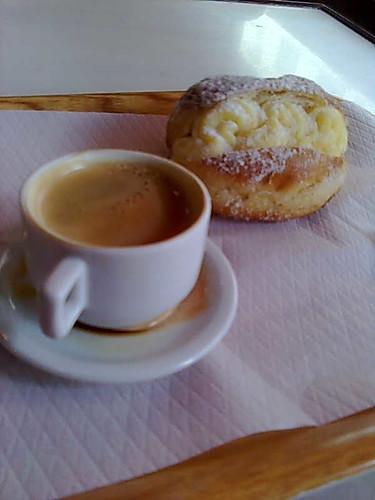 Café e sonho (que sonho!)
