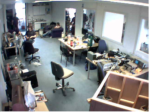 Webcam view of London Hackerspace