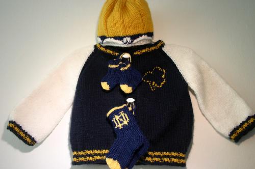 Notre Dame Jacket - Gift Set