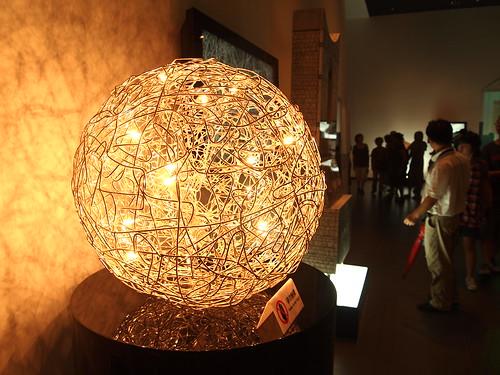 意大利馆的抽象主义光球