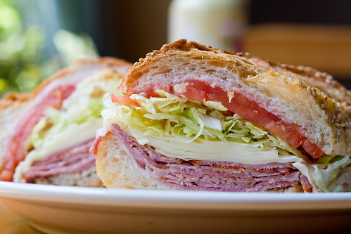 Capicola sandwich, Salumeria Biellese