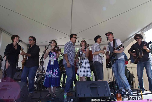 The Gertrudes at the Vancouver International Folk Fesival