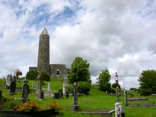 Turlough Church and Roundtower