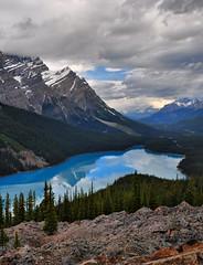 Peyto Lake - Banff National Park (Craig T....) Tags: mountain lake hiking banffnationalpark peytolake