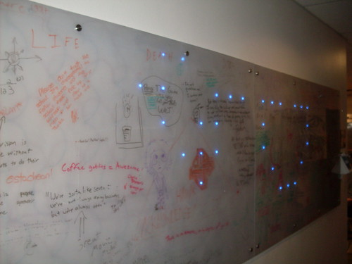 LED Whiteboard