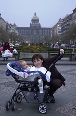 pc000107.jpg (keithlevit) Tags: city family sky woman baby building smiling vertical outdoors happy photography kid outfit holding toddler infant sitting child carriage adult prague affection fineart mother warmth posing parent together pram frontview colorimage twopeopleonly lookingatcamera levit keithlevit keithlevitphotography