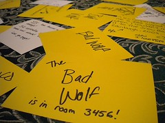 The bad wolf is in 3456