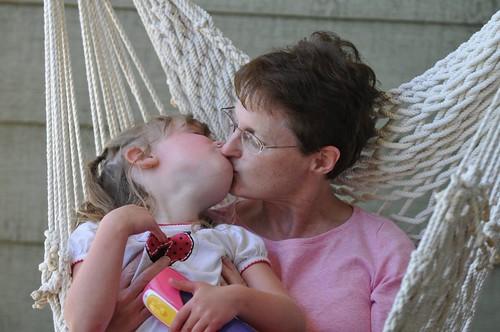 Eliana and Mommom