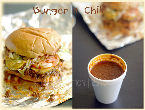 Burger and Chili