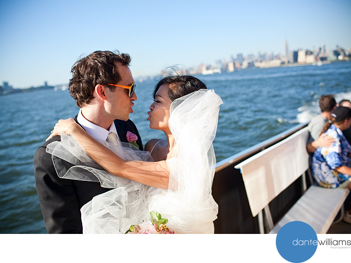 Liberty Ferry Wedding, New York / Jew Jersey