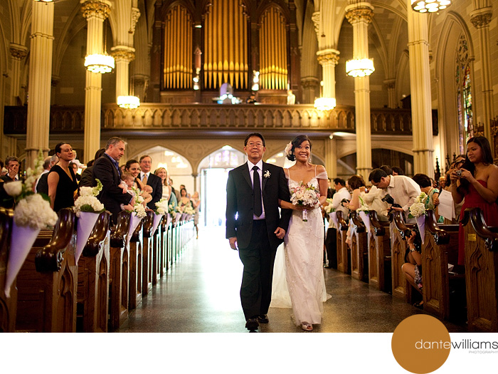St. Patrick's Old Cathedral Wedding, New York 1