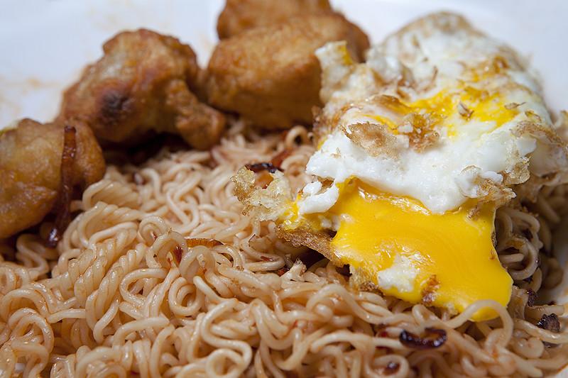 instant noodles.