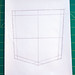 3. Pocket Template - Central Vertical and Horizontal Lines