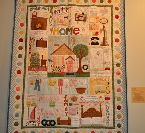family and home quilt, SMofA quilt show 2010