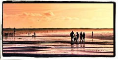 Relax @ sea (Michel_Derksen) Tags: sea people sun beach water sunshine strand relax zee enjoy zon silhouet mensen genieten toning zonneschijn ontspannen