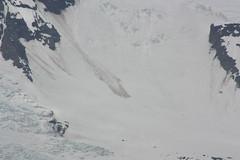 Recent slide (Inanimate Carbon Rod) Tags: snow ice canon iceland slide glacier landslide xsi avalanche rockslide