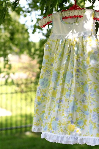 vintage pillowcase nightgown