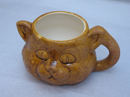 Kitty Cat Coffee Cup