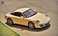 Porsche Carrera S [Explored] (Tareq Abuhajjaj | Photography & Design) Tags: red green grass sport yellow germany nikon power gear s porsche saudi rims  carrera 2010 ksa tareq 24120mm  alreem     d700  tareqmoon tareqdesign abuhajja