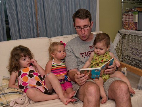 Reading with Uncle J