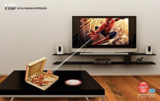 Claro TV, HD en su máxima expresión - Spiderman