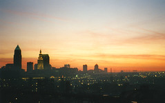 Sunrise over Cleveland, June 4, 1999