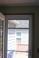 storm door half screen
