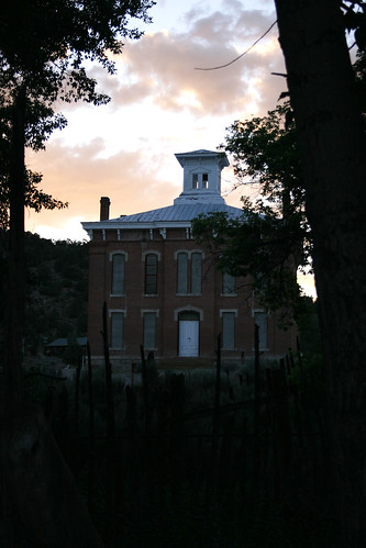 Belmont Court House-sunset
