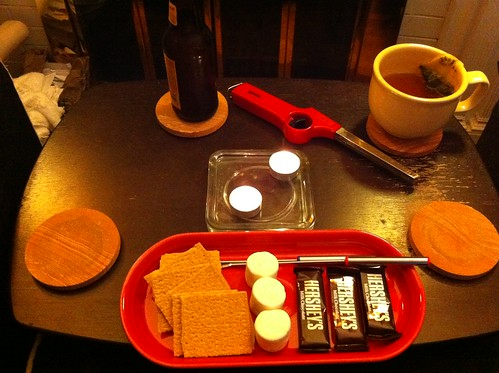 candle s'mores!