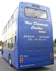Mac Diarmada Coaches Volvo Olympian (irishmanufan) Tags: ireland dublin volvo mac coaches dalkey olympian diarmada