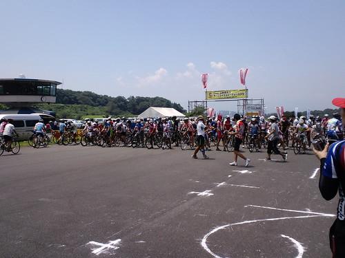 CSC5時間耐久チームサイクルロードレース大会 スタート直前
