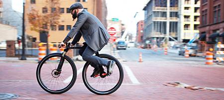 无链条自行车的工作原理图片