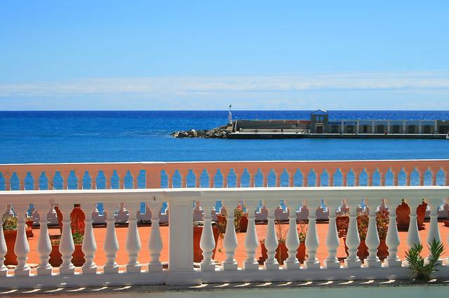 Scorcio mare ad Aciaroli sulla costiera Cilentana in campania Italia