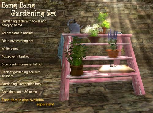 Bang Bang - Gardening Set