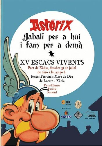 Portada Ajedrez Asterix