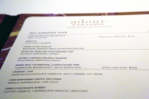 RW menu