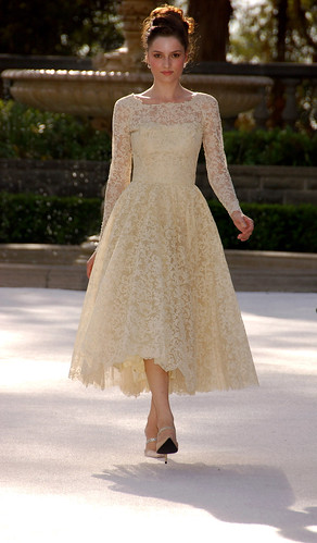 Elizabeth Mason presents, The Paper Bag Princess, Vintage Bridal Fashion Show at Greystone Mansion, Beverly Hills