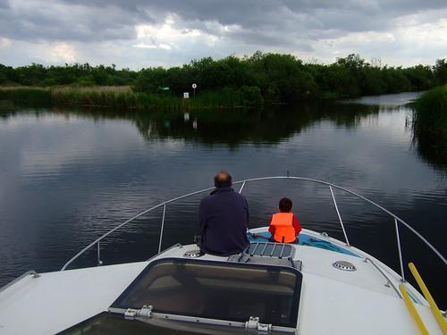 sailing along - sal and joe