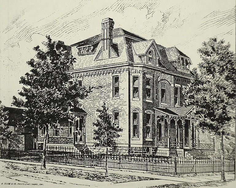 A.W. Oliver Residence; Wichita, KS