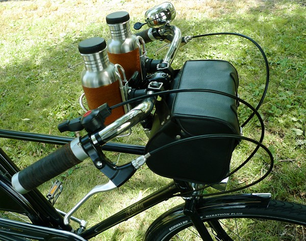 Diy Waterbottle Mounts On The Pashley Roadster