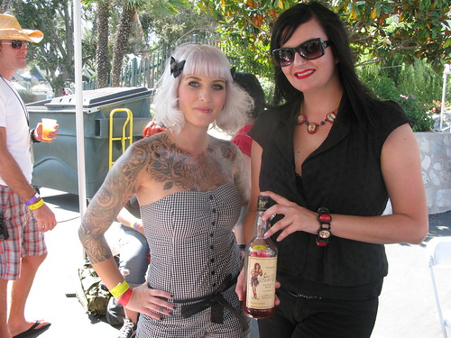 Sailor Jerry Rum bartenders by Caroline on Crack