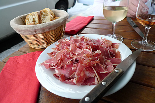 sliced jambon
