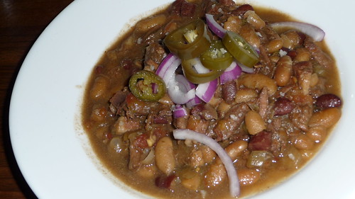 Pork and beef chili at Beer Table
