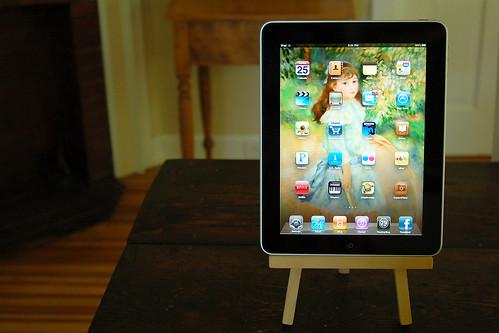 My iPad.