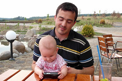 SE is not good (Daniel Kulinski) Tags: family summer portrait people baby holiday ex face happy one child time body space father daughter young mother grow fast samsung husband babe portraiture wife care likeness ex1 samsungex1 exone gettypoland1
