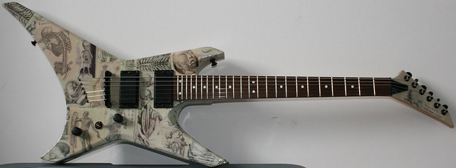 Anatomy guitar by Royce Volkmann